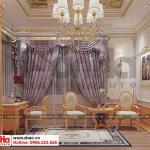 11 Thiết kế nội thất phòng ngủ vip tân cổ điển khu đô thị Senturia Vườn lài An Phú Đông Sài Gòn