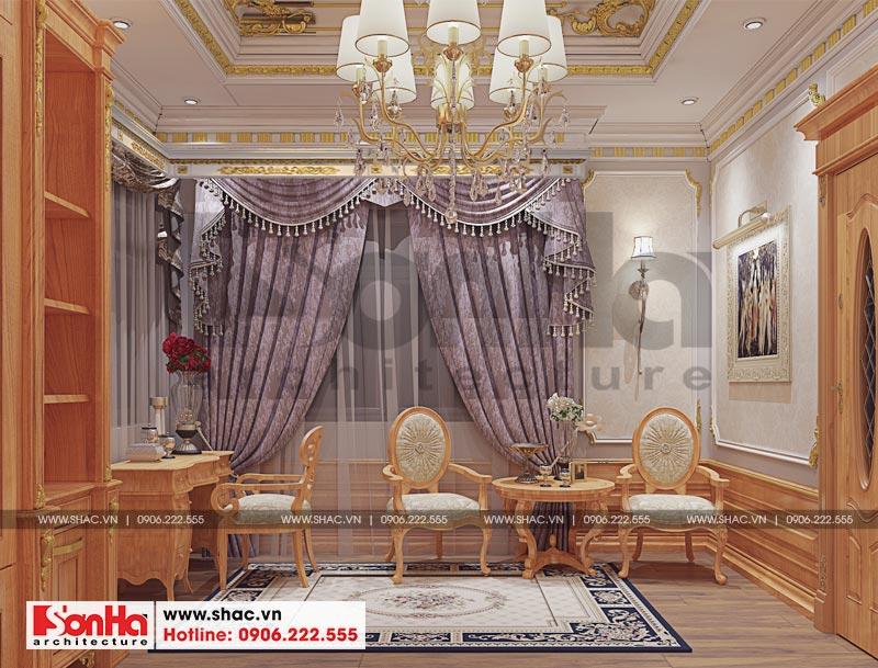 Thiết kế nội thất biệt thự đơn lập phong cách tân cổ điển tại Senturia Vườn Lài (Sài Gòn) 12