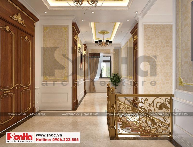 Thiết kế nội thất biệt thự đơn lập phong cách tân cổ điển tại Senturia Vườn Lài (Sài Gòn) 15