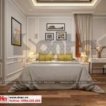13 Thiết kế nội thất phòng ngủ 3 biệt thự tân cổ điển đẹp tại hà nội sh btp 0132