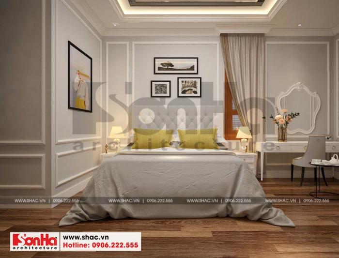 Thêm một phương án thiết kế nội thất phòng ngủ đẹp với sàn gỗ công nghiệp
