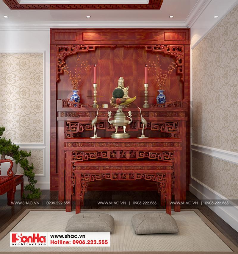 Thiết kế nội thất biệt thự đơn lập phong cách tân cổ điển tại Senturia Vườn Lài (Sài Gòn) 14