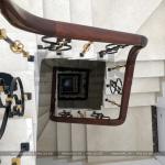 14 Ảnh thực tế nội thất sảnh thang khu nhà phố thương mại shophouse vạn phúc hà nội