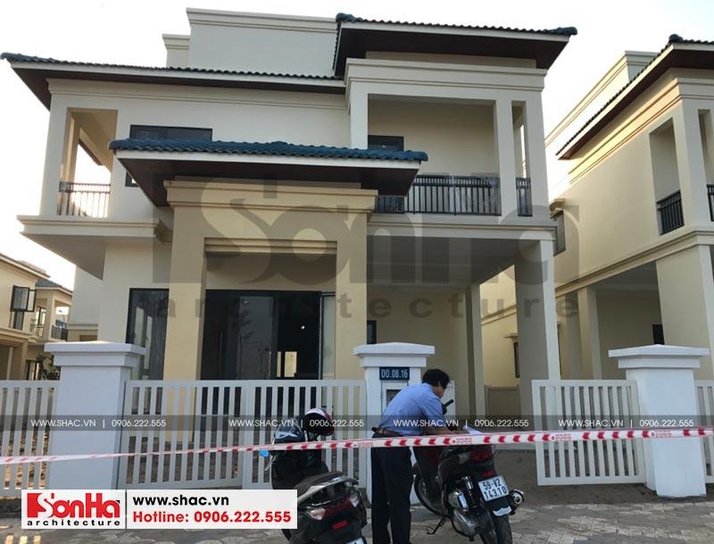 Thiết kế nội thất biệt thự đơn lập phong cách tân cổ điển tại Senturia Vườn Lài (Sài Gòn) 1