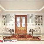 17 Thiết kế nội thất phòng sinh hoạt chung biệt thự tân cổ điển 3 tầng tại hà nội sh btp 0132