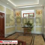 18 Mẫu nội thất sảnh thang biệt thự tân cổ điển mặt tiền 10m tại hà nội sh btp 0132