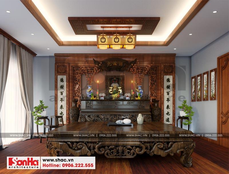 Mẫu biệt thự tân cổ điển 3 tầng mặt tiền rộng 10m tại Hà Nội - SH BTP 0132 21