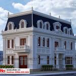 3 Thiết kế biệt thự tân cổ điển mặt tiền 10m tại hà nội sh btp 0131