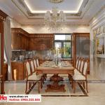 4 Mẫu nội thất phòng bếp ăn biệt thự đơn lập khu đô thị Senturia Vườn lài An Phú Đông Sài Gòn
