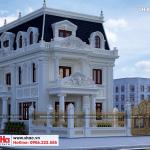 4 Mẫu thiết kế biệt thự tân cổ điển tại hà nội sh btp 0132