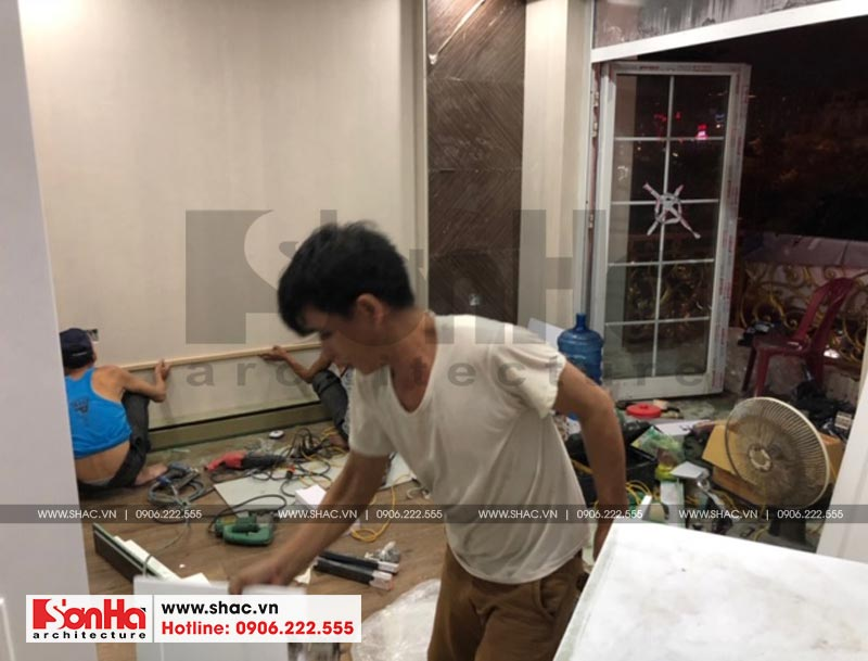Thi công trọn gói nội thất nhà phố thương mại Shophouse Hà Đông (Hà Nội) 7