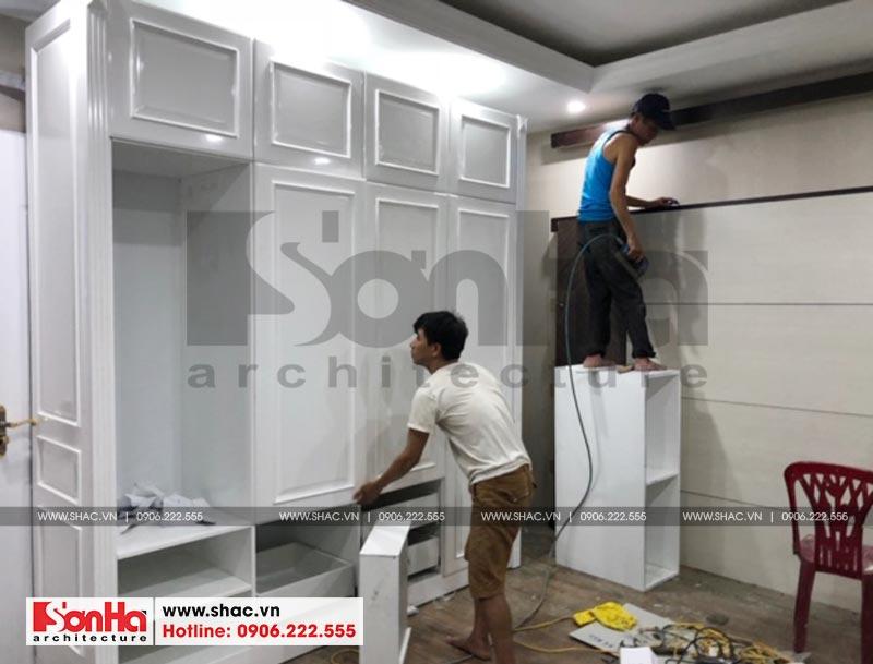 Thi công trọn gói nội thất nhà phố thương mại Shophouse Hà Đông (Hà Nội) 6