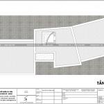 7 Mặt bằng công năng tầng mái nhà ống hiện đại 3 tầng tại hải dương sh nod 0193