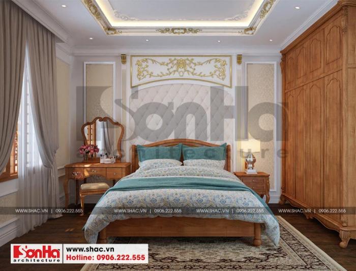 Thêm một phương án thiết kế nội thất phòng ngủ rất được CĐT đánh giá cao