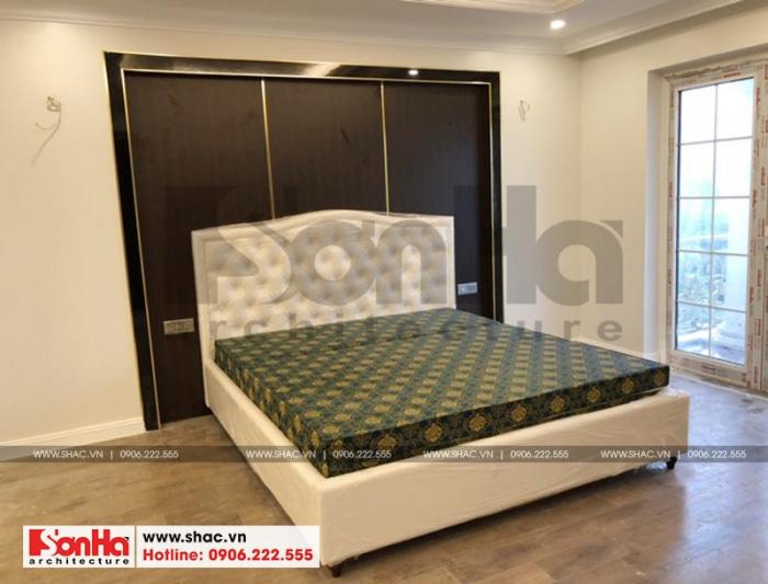 Chiếc giường ngủ đẹp mắt – sản phẩm của Nội thất Sơn Hà