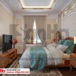 9 Thiết kế nội thất phòng ngủ 2 tân cổ điển khu đô thị Senturia Vườn lài An Phú Đông Sài Gòn
