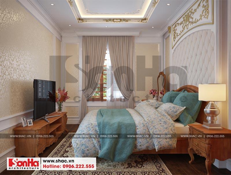 Thiết kế nội thất biệt thự đơn lập phong cách tân cổ điển tại Senturia Vườn Lài (Sài Gòn) 8