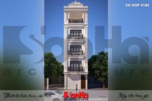 BÌA thiết kế nhà phố liền kề 5 tầng mặt tiền 5m tại quảng ninh sh nop 0183