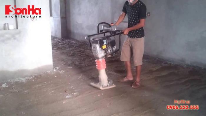 Hướng dẫn kỹ thuật đầm nền nhà giúp nhà biệt thự nào cũng siêu bền