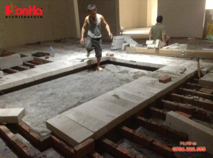 Nâng nền nhà là giải pháp kỹ thuật nâng chiều cao nền nhà bằng cách đắp thêm vật liệu