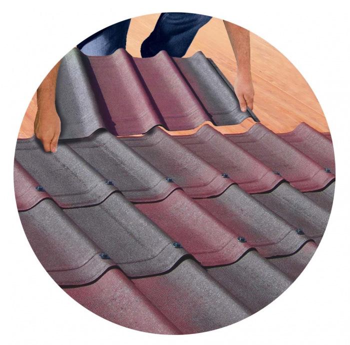 Quy trình lớp ngói không nung sẽ giúp lợp ngói đúng kỹ thuật và bền đẹp