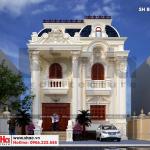 1 Thiết kế biệt thự cổ điển pháp tại hải phòng sh btp 0133