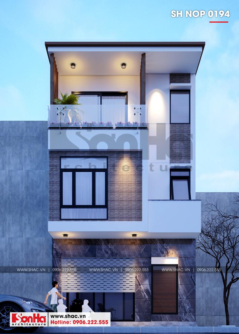 Kiến trúc nhà phố hiện đại tại Hải Phòng là hội tụ tinh hoa kiến trúc