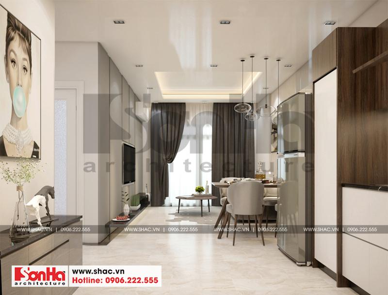 Thiết kế nội thất căn hộ chung cư 63m2 tại Wilton Tower (TP. Hồ Chí Minh) 2