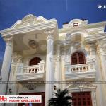 3 Thiết kế biệt thự kiến trúc pháp mặt tiền 9,9m tại hải phòng sh btp 0133