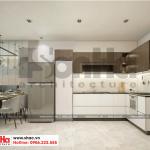 3 Thiết kế nội thất phòng khách bếp hiện đại căn hộ chung cư wilton tower sài gòn