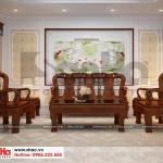 4 Mẫu nội thất phòng khách nhà ống tân cổ điển đẹp tại phú thọ sh nop 0184