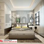 4 Mẫu nội thất phòng ngủ 1 căn hộ chung cư wilton tower sài gòn