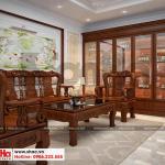5 Thiết kế nội thất phòng khách nhà ống tân cổ điển pháp tại phú thọ sh nop 0184