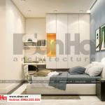 7 Thiết kế nội thất phòng ngủ hiện đại 2 căn hộ chung cư wilton tower sài gòn