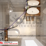 9 Thiết kế nội thất phòng tắm wc hiện đại căn hộ chung cư wilton tower sài gòn