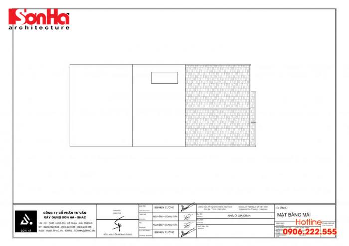 Bản vẽ hồ sơ xin cấp phép xây dựng nhà ở biệt thự nhà phố của SHAC (8)