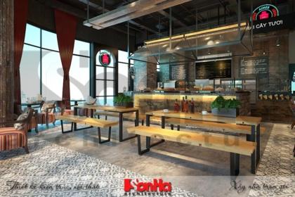 BÌA mẫu nội thất tiệm bánh cafe hiện đại đẹp tại trung tâm thương mại vinhomes imperia hải phòng
