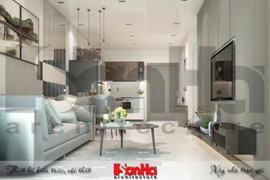 BÌA thiết kế nội thất hiện đại căn hộ chung cư wilton tower sài gòn