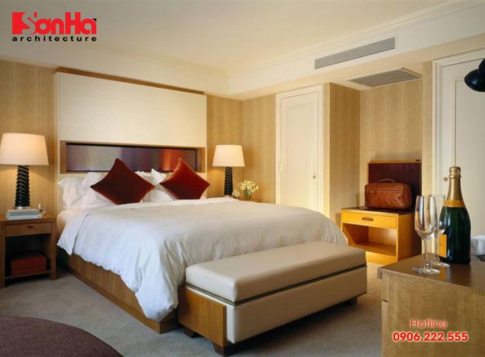 Đảm bảo tiêu chuẩn giường ngủ khách sạn sẽ giúp du khách có giấc ngủ thoải mái