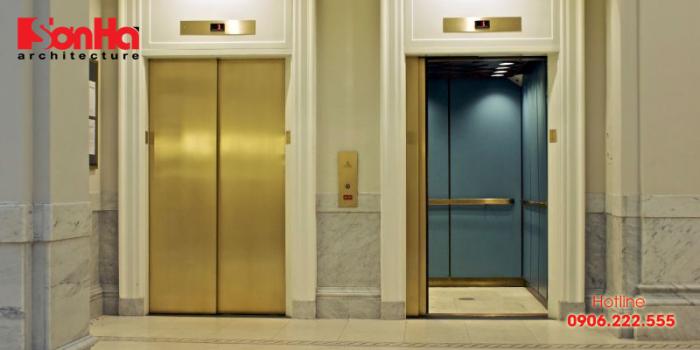 Hình thức là 1 yếu tố để quyết định có lắp đặt thang máy khách sạn đó hay không