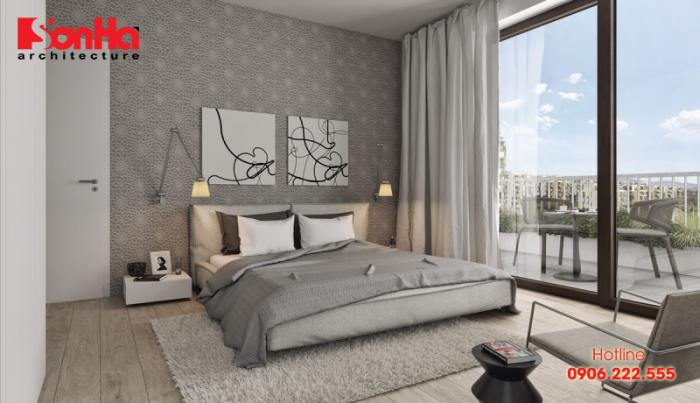 Không gian phòng ngủ đẹp như khách sạn khiến bất kỳ ai cũng khó cưỡng
