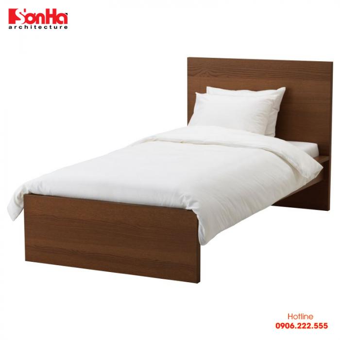 Kích thước tiêu chuẩn của giường ngủ đơn là rộng 0,8m và dài 1,9m