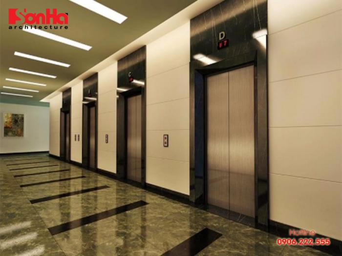 Thang máy là thiết bị quan trọng cần lắp đặt và kiểm soát thi công nghiêm ngặt