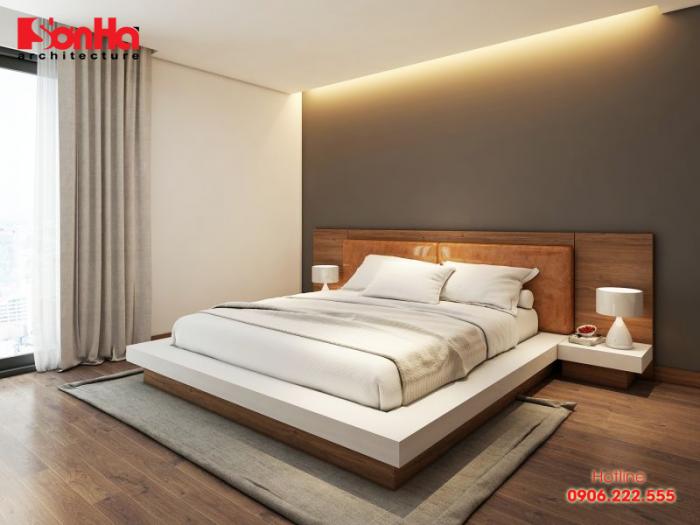 Vị trí giường ngủ phong thủy tốt giúp chủ nhân căn phòng đảm bảo sức khỏe may mắn