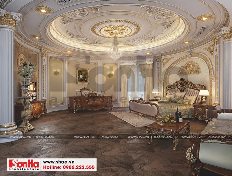 Thiết kế nội thất biệt thự lâu đài xa hoa bậc nhất phố núi Pleiku (Gia Lai) 7