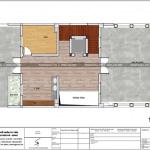 11 Mặt bằng công năng tầng tum biệt thự pháp 5 tầng tại ninh bình sh btp 0134