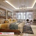 11 Thiết kế nội thất phòng ngủ 4 biệt thự pháp đẹp tại ninh bình sh btp 0134