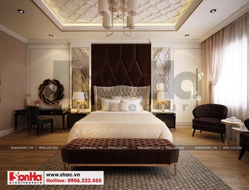 Thiết kế thi công nội thất nhà phố liền kề 97,5m2 phong cách tân cổ điển tại khu Shophouse Hạ Long – Quảng Ninh 11