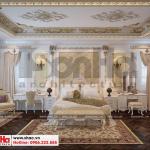 12 Mẫu nội thất phòng ngủ 3 biệt thự lâu đài diện tích 1280m2 tại gia lai