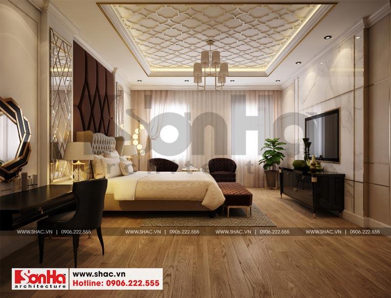 Thiết kế thi công nội thất nhà phố liền kề 97,5m2 phong cách tân cổ điển tại khu Shophouse Hạ Long – Quảng Ninh 12